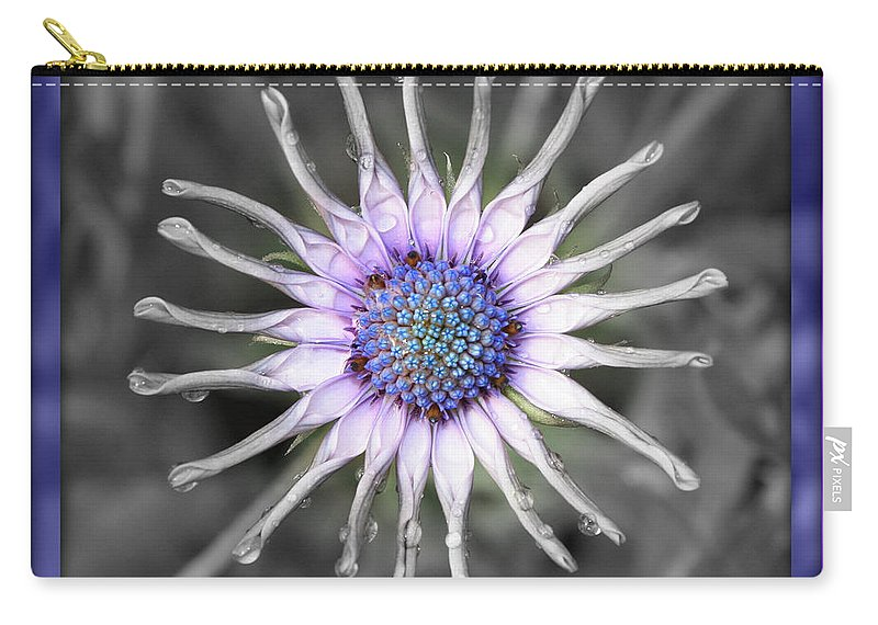 Digital Art Carry-all Pouch featuring the photograph Joy Within by Carol Groenen
