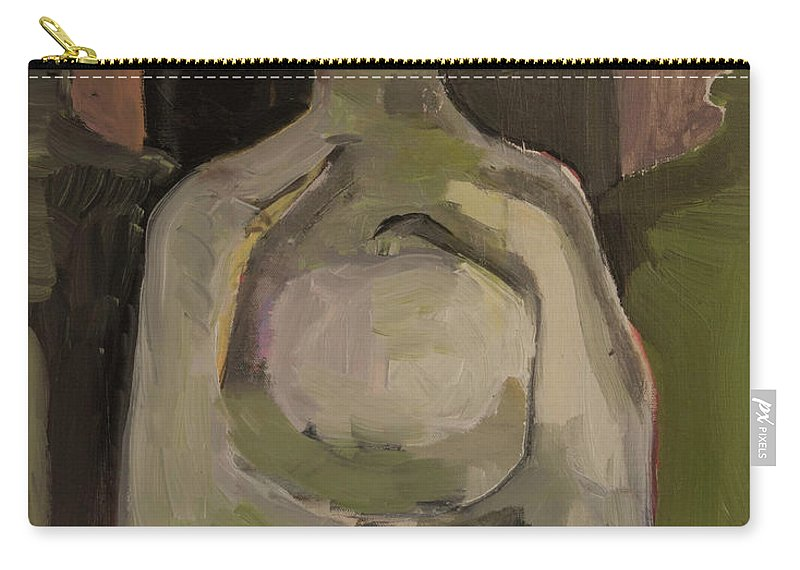 Jug Carry-all Pouch featuring the painting Jug Clan by Craig Newland