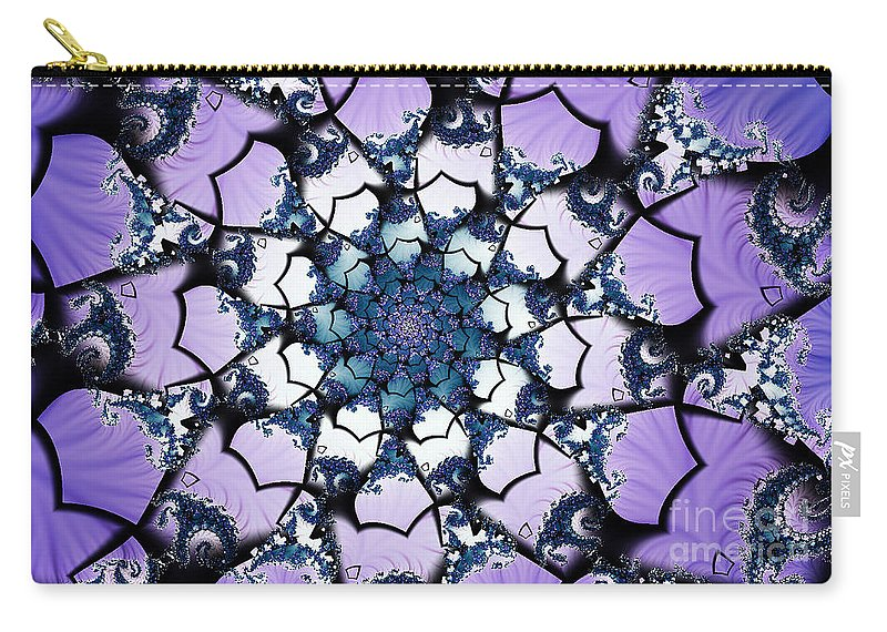 Clay Carry-all Pouch featuring the digital art Julia by Clayton Bruster