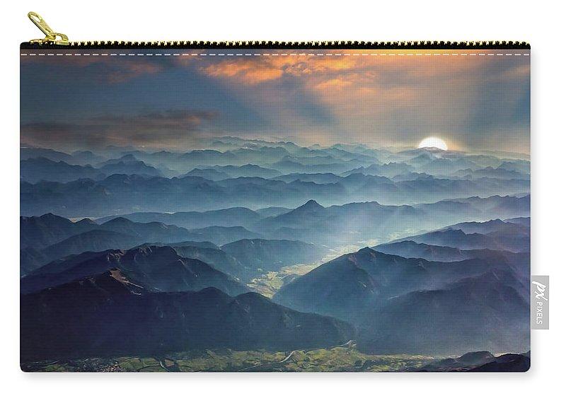 Julian Carry-all Pouch featuring the photograph Julian Alps by Ceri Jones