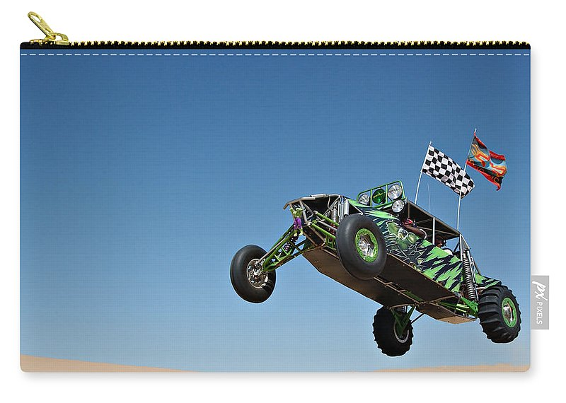 Dune Buggy Carry-all Pouch featuring the photograph Jumping Hulk by Scott Sawyer