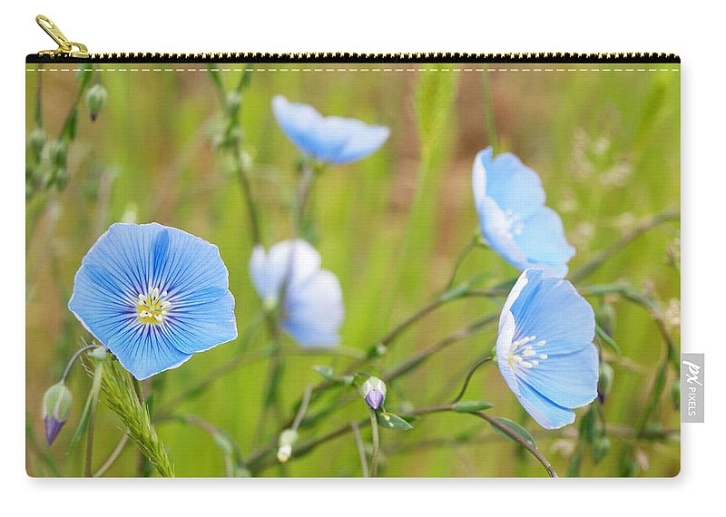 Flowers Carry-all Pouch featuring the photograph June 6 2010 by Tara Turner