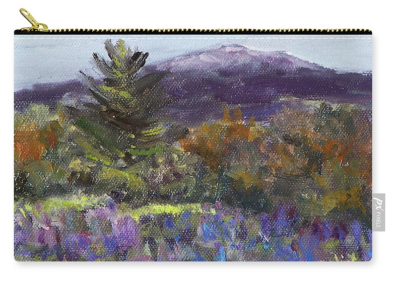 Original Oil Carry-all Pouch featuring the painting June Carpet by Alicia Drakiotes