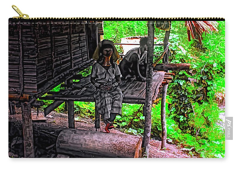 Couple Carry-all Pouch featuring the photograph Jungle Life by Steve Harrington