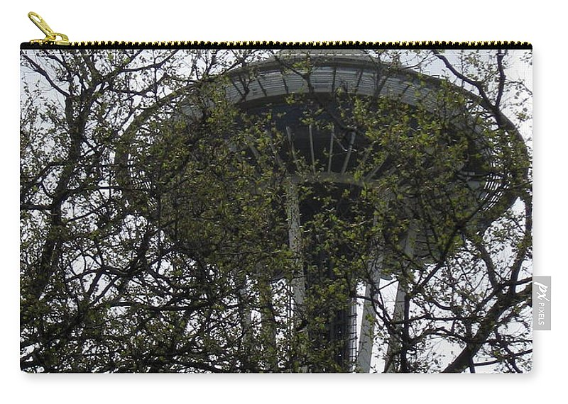 Space Needle Carry-all Pouch featuring the photograph Jungle Love by Thomas Sexton