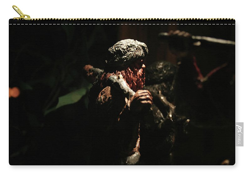Surreal Carry-all Pouch featuring the photograph Jungle Out There by Ric Bascobert