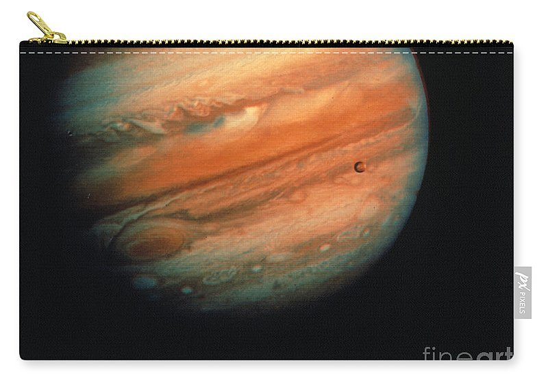 1970s Carry-all Pouch featuring the photograph Jupiter, Europa, & Io by Granger