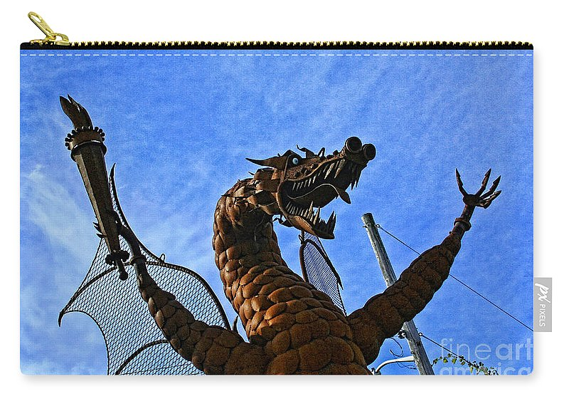 Jurustic Park Carry-all Pouch featuring the photograph Jurustic Park - 2 by Tommy Anderson