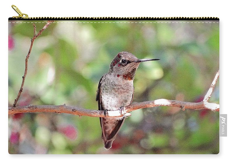 Nature Carry-all Pouch featuring the photograph Brief Rest by Rhiannon Amaya