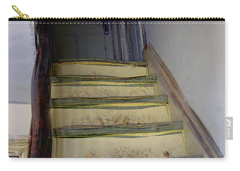 Antiquated Carry-all Pouch featuring the digital art Just A Little Rickety by RC DeWinter
