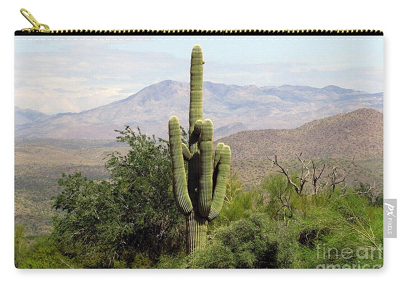 Desert Carry-all Pouch featuring the photograph Just Arizona by Marilyn Smith