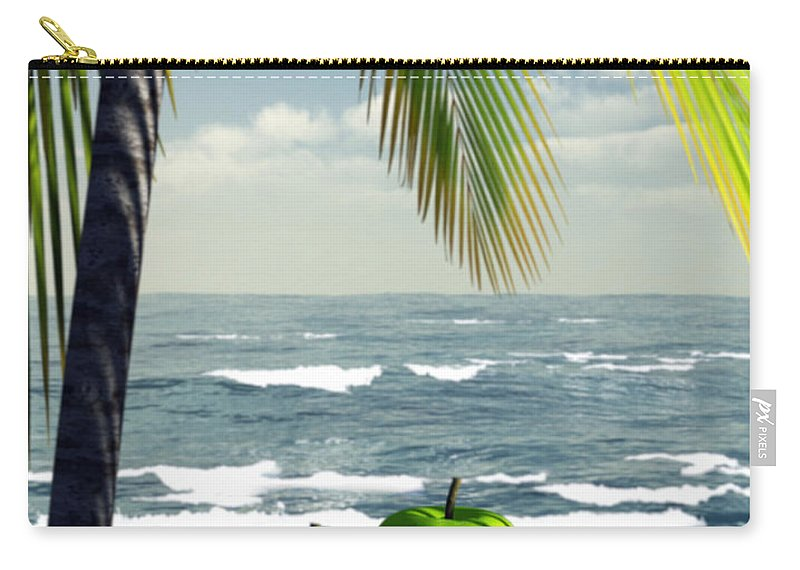 Just Dessert Carry-all Pouch featuring the digital art Just Dessert by Richard Rizzo