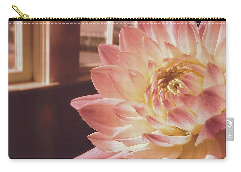 Nantucket Carry-all Pouch featuring the photograph Just Petals by JAMART Photography
