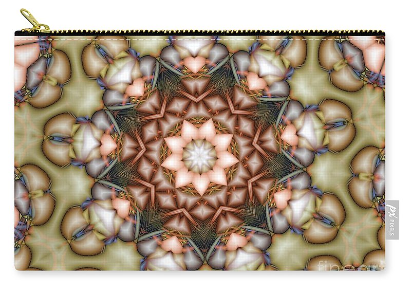 Star Carry-all Pouch featuring the photograph Kaleidoscope 108 by Ron Bissett