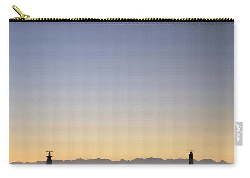 Kalk Bay Carry-all Pouch featuring the photograph Kalk Bay by Neil Overy