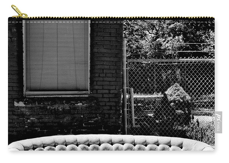 Kansas City Carry-all Pouch featuring the photograph Kansas City Couch by Gia Marie Houck