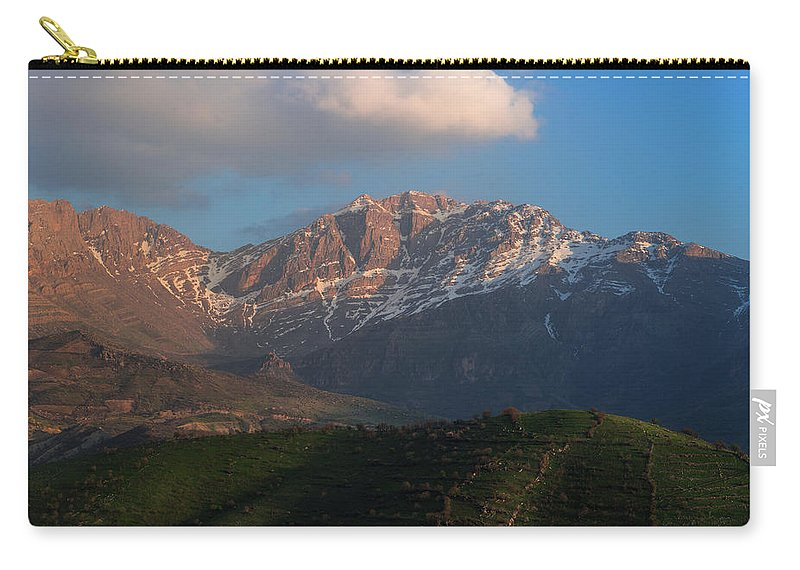 Kanitoo Carry-all Pouch featuring the photograph Kantioo by Adam Mirani