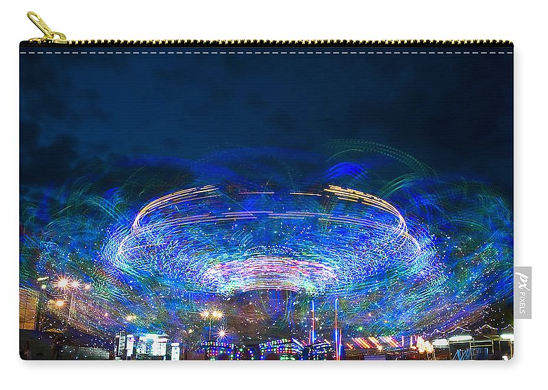 Abstract Carry-all Pouch featuring the photograph Karusel by Svetlana Sewell