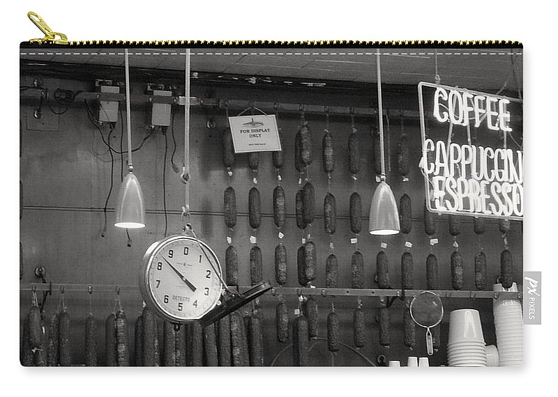 Deli Carry-all Pouch featuring the photograph Katz Deli by Debbi Granruth