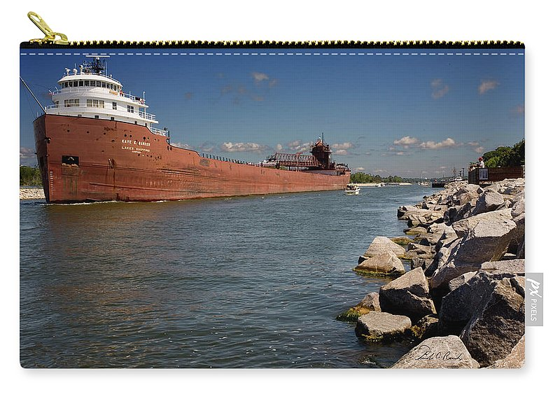 Color Carry-all Pouch featuring the photograph Kay E Barker by Frederic A Reinecke