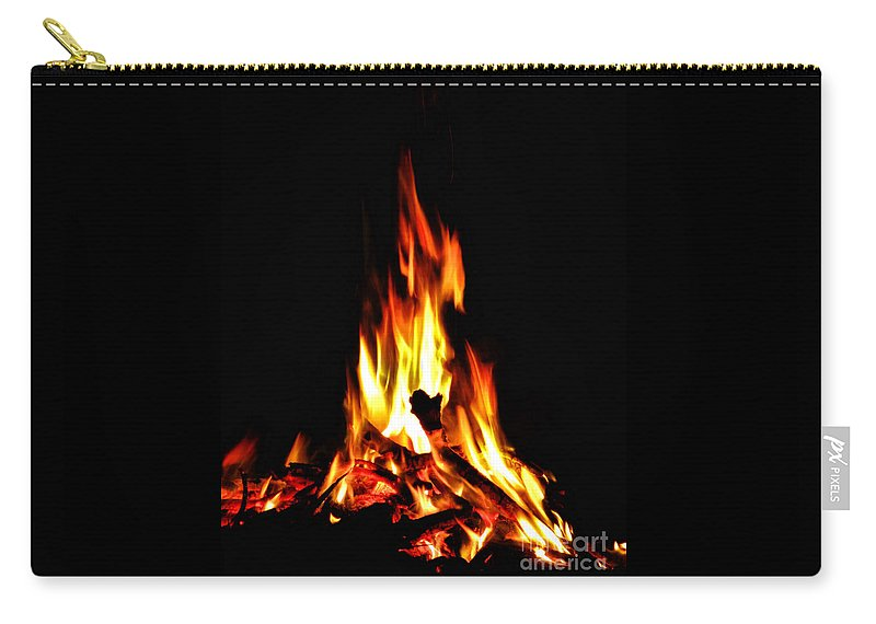 Fire Carry-all Pouch featuring the photograph Keegan by September Stone