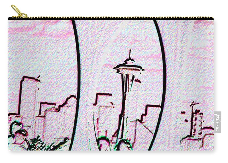 Seattle Carry-all Pouch featuring the photograph Kerry Needle 2 by Tim Allen