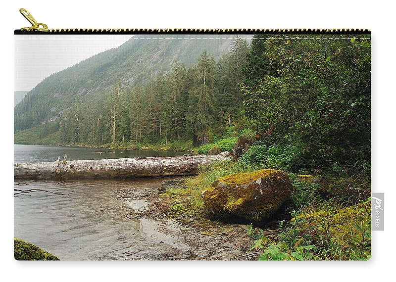 Alaska Carry-all Pouch featuring the photograph Ketchikan's Misty Fjord by Michael Peychich