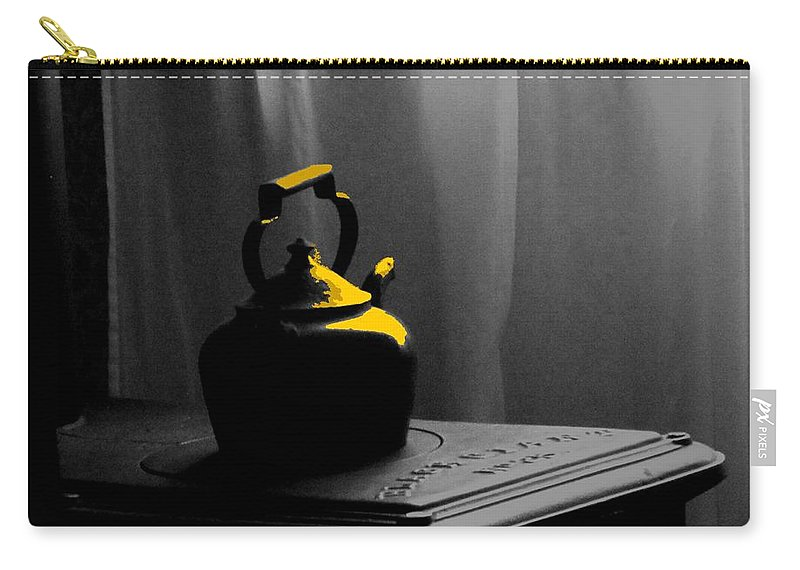 Kettle Carry-all Pouch featuring the photograph Kettle In Isolation by Ian MacDonald