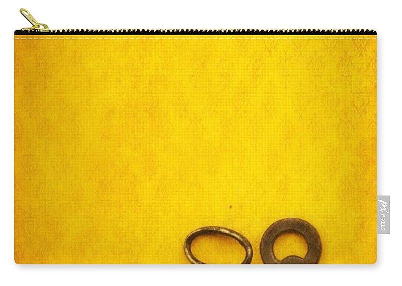 Keys Carry-all Pouch featuring the photograph Key Family by Priska Wettstein
