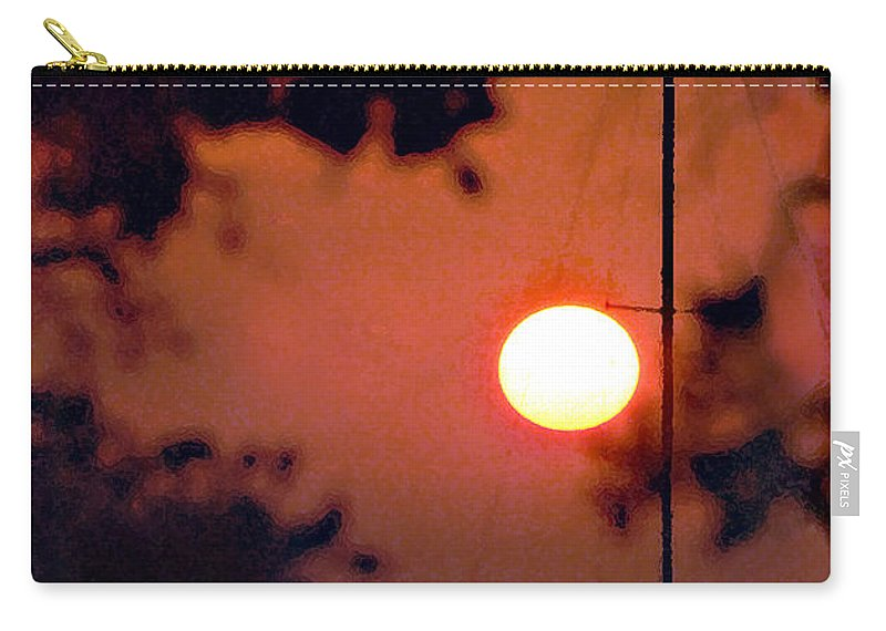 Seascape Carry-all Pouch featuring the photograph Key Largo by Steve Karol