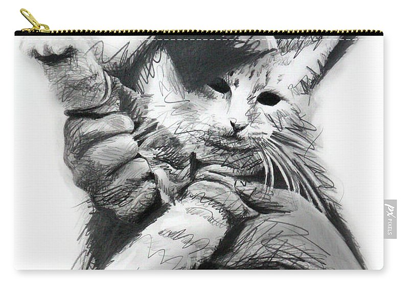 Keyboard Cat In Pencil Carry-all Pouch