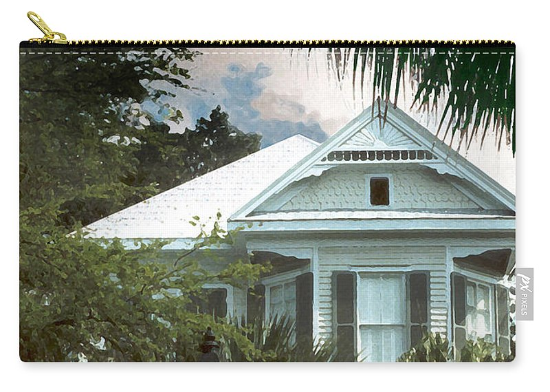Historic Carry-all Pouch featuring the photograph Keywest by Steve Karol