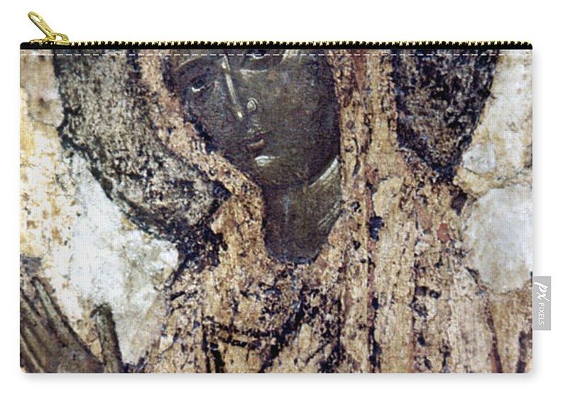 14th Century Carry-all Pouch featuring the photograph Khalkopratiyskaya Virgin by Granger