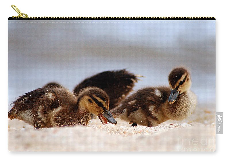 Clay Carry-all Pouch featuring the photograph Kids Will Play by Clayton Bruster