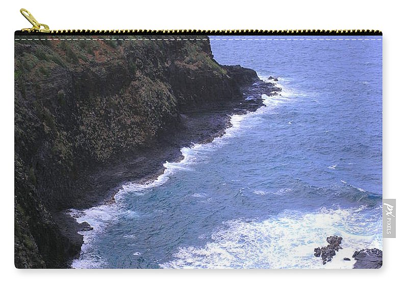 Lighthouse Carry-all Pouch featuring the photograph Kilauea Lighthouse And Bird Sanctuary by Mary Deal