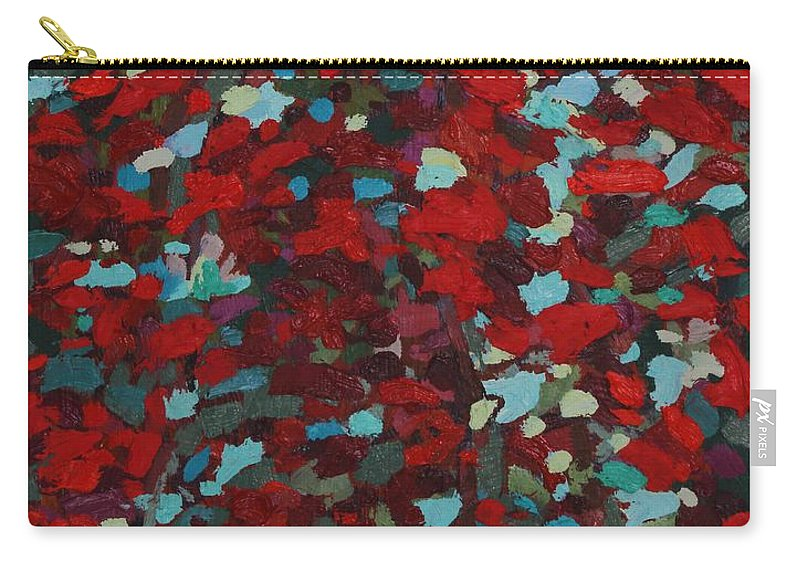 2040 Carry-all Pouch featuring the painting Killarney In The Fall by Phil Chadwick