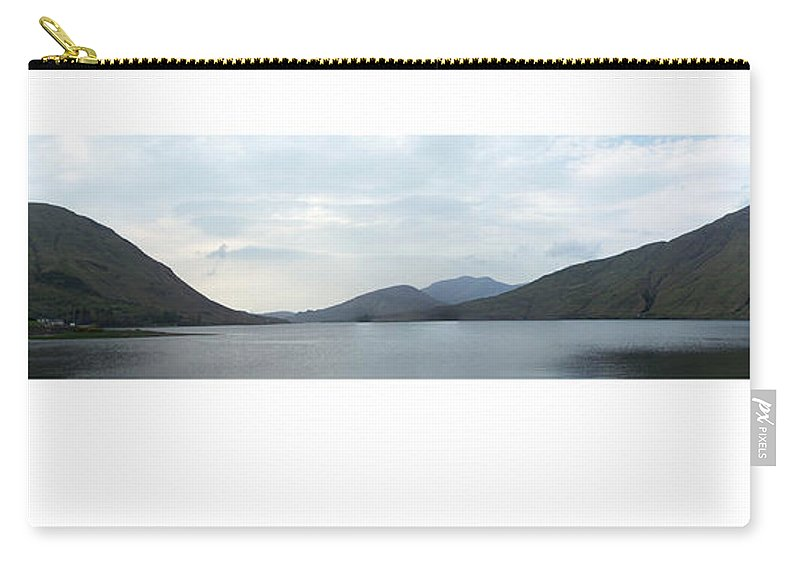 Landscape Carry-all Pouch featuring the photograph Killary Harbour Leenane Ireland by Teresa Mucha