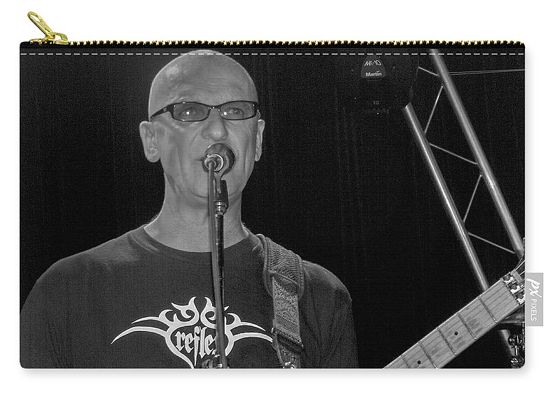 Kim Mitchell Band Rock And Roll Music Concerts Star Lead Singer Carry-all Pouch featuring the photograph Kim Mitchell by Andrea Lawrence