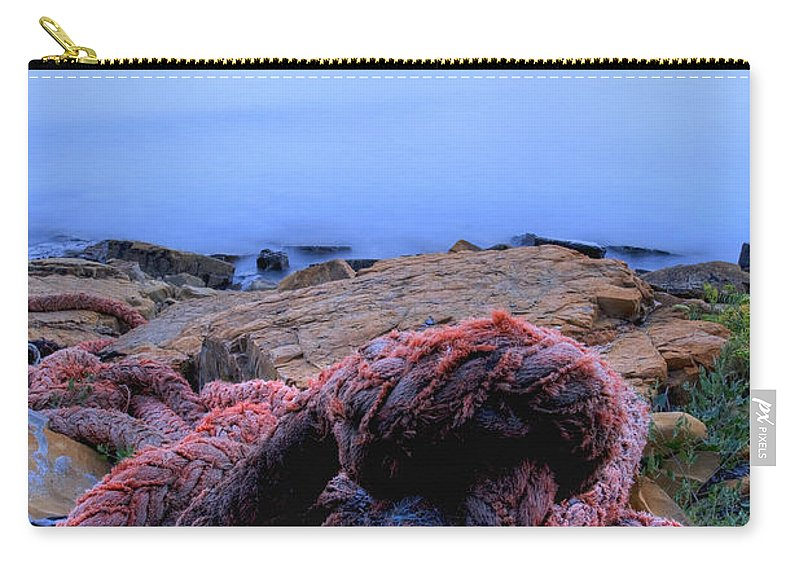 Kimmeridge Carry-all Pouch featuring the photograph Kimmeridge Bay In Dorset by Ian Middleton