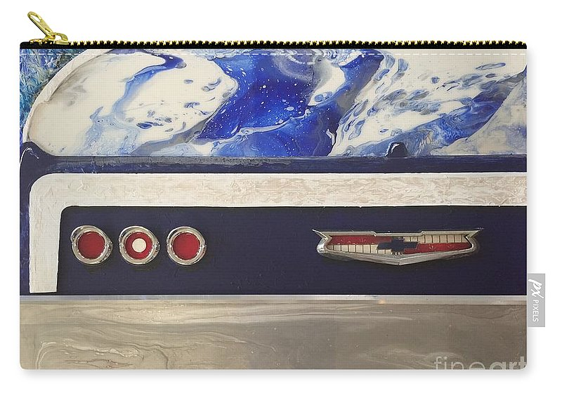 Classic Carry-all Pouch featuring the mixed media Kinda Impala by Robert Wek