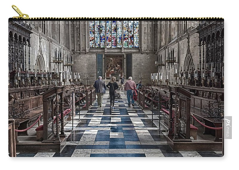 Cambridge Carry-all Pouch featuring the photograph Kings Altar by Monika Tymanowska