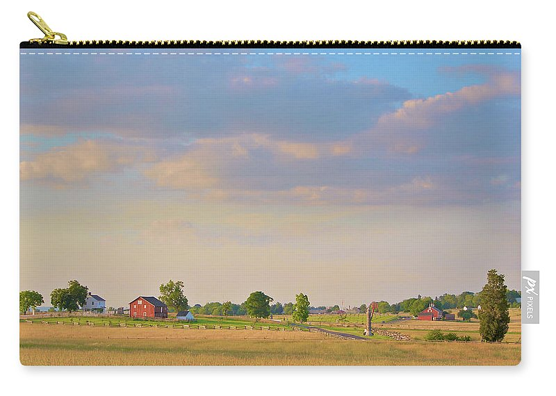 Civil War Carry-all Pouch featuring the photograph Klingel Farm by Jen Goellnitz