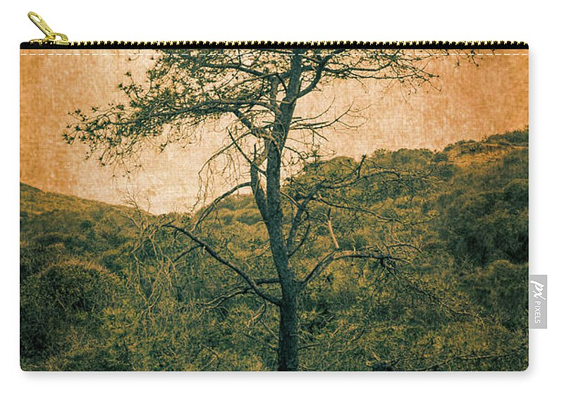 Single Carry-all Pouch featuring the photograph Knarly Tree by Stevie Benintende