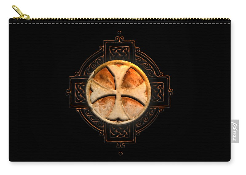 Knights Templar Symbol Re Imagined By Pierre Blanchard Carry All