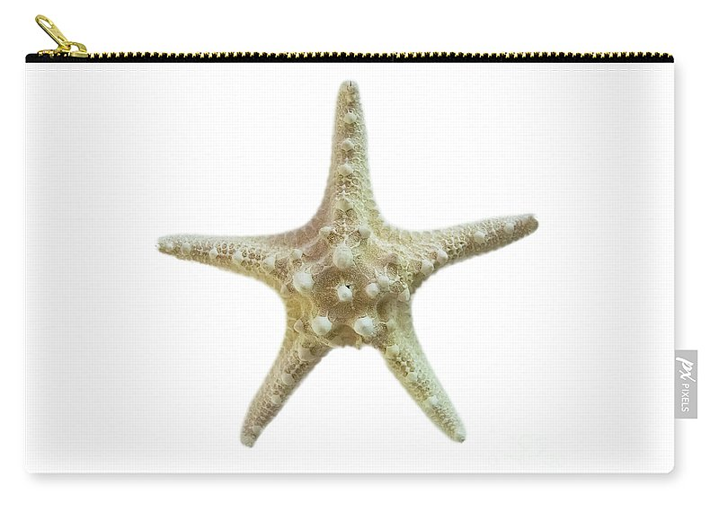 Starfish Carry-all Pouch featuring the photograph Knobby Starfish by Judy Hall-Folde