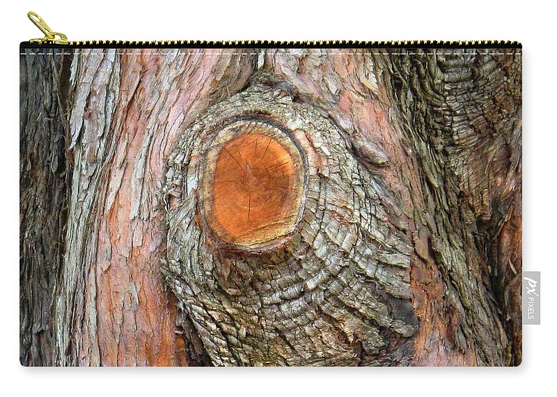Tree Carry-all Pouch featuring the photograph Knot by Ian MacDonald