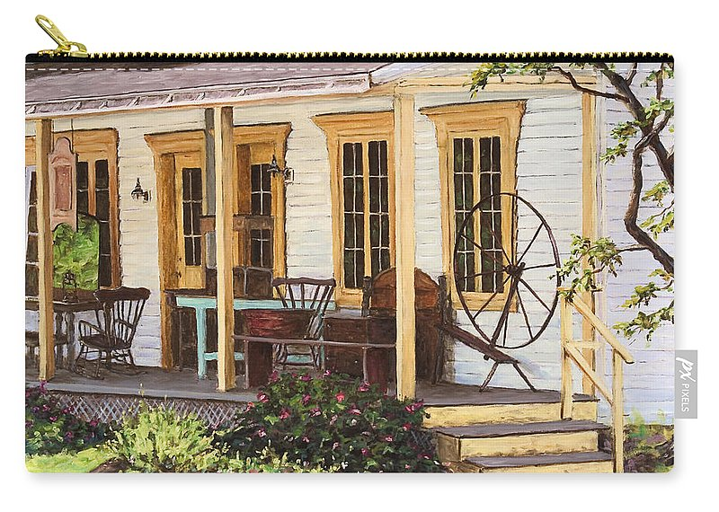 Urban Carry-all Pouch featuring the painting Knowlton Lac Brome by Richard T Pranke