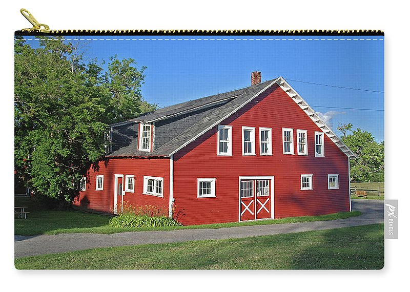 Barn Carry-all Pouch featuring the photograph Knox Farm 5138a by Guy Whiteley