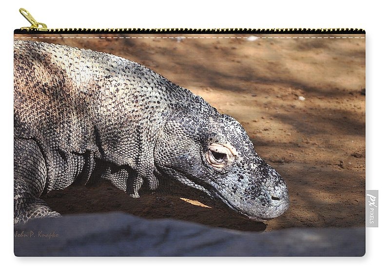 John Knapko Carry-all Pouch featuring the photograph Komodo Kountry by John Knapko
