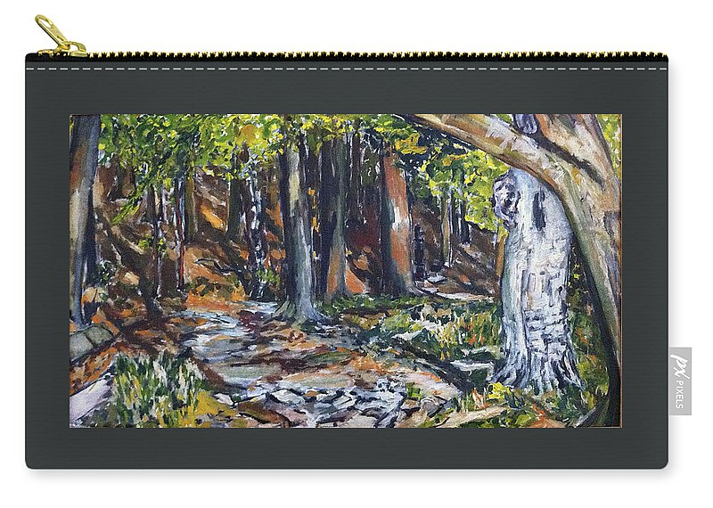 Landscape Carry-all Pouch featuring the painting Kosak Bordelar by Pablo de Choros